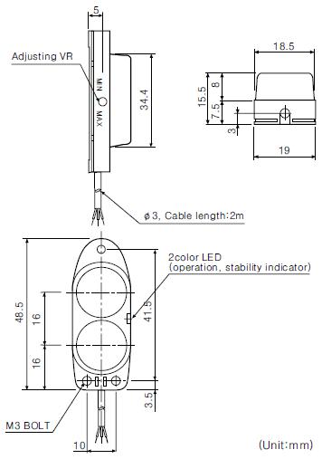 ba series photoelectric sensor