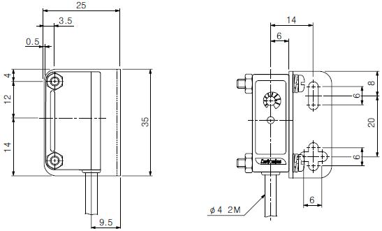 byd series photoelectric sensor